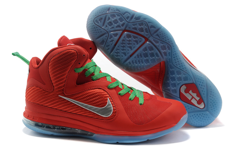 Nike Lebron 9 red/green