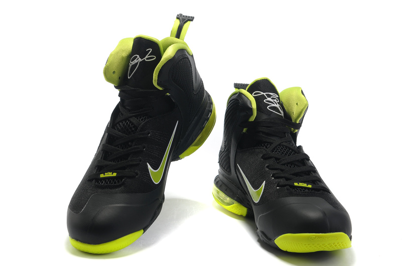 Nike Lebron 9 lawngreen/black