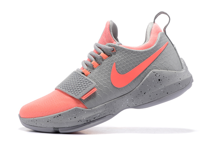 Nike Zoom PG 1 Gray/Peachblow
