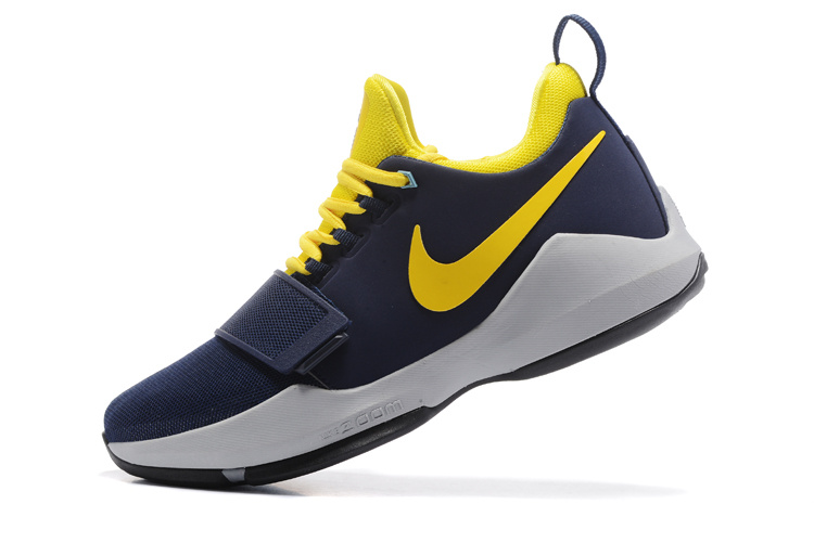 Nike Zoom PG 1 Navy/Gold