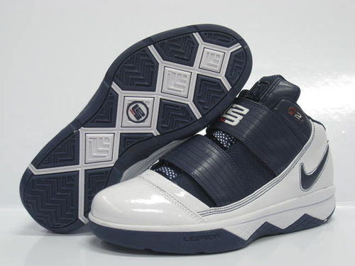 Nike Zoom Lebron James Soldier 3 Navy/white