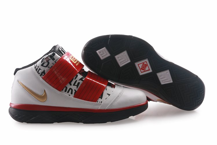 Nike Zoom Lebron James Soldier 3 black/white/red