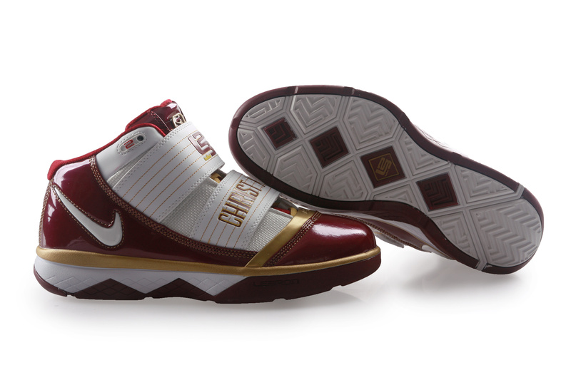 Nike Zoom Lebron James Soldier 3 white/golden/brown