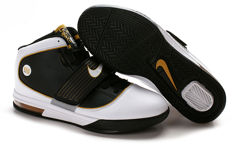 Nike Zoom Soldier IV Lebron black/white/darkorange
