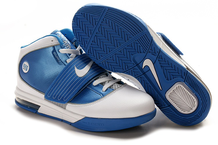Nike Zoom Soldier IV Lebron white/blue