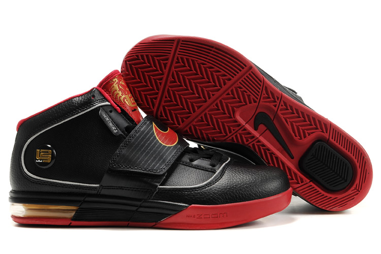 Nike Zoom Soldier IV Lebron black/red