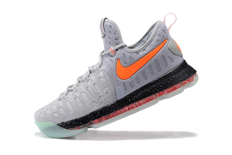 Nike Zoom KD 9 black/gray/orangered