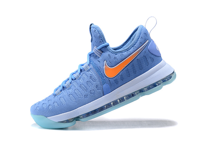 Nike Zoom KD 9 black/Blue Eyes/Pumpkin Orange