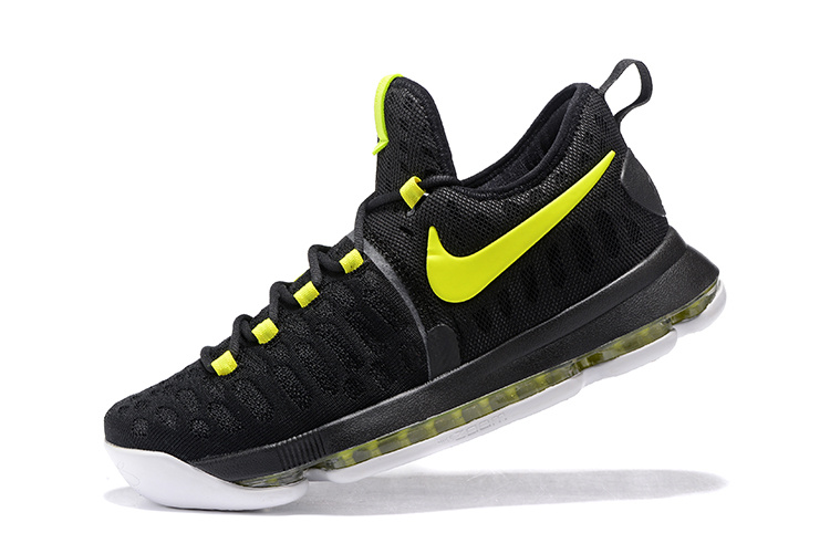 Nike Zoom KD 9 blakc/Yellow/white