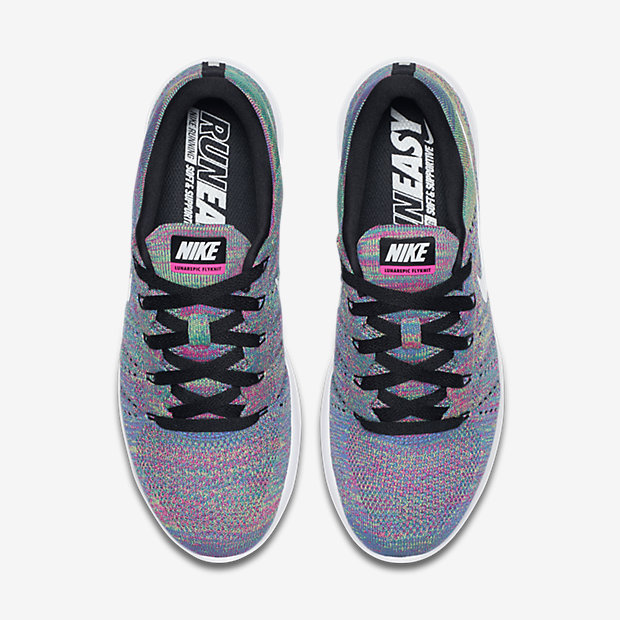 Nike LunarEpic Low Flyknit ULTD white/rainbow