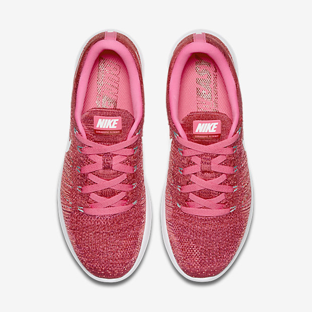 Nike LunarEpic Low Flyknit ULTD white/Light Coral
