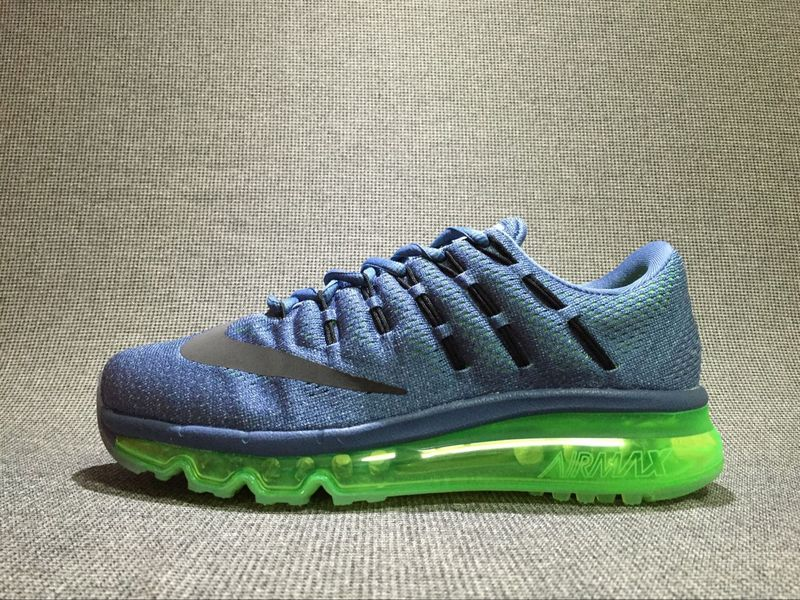 Nike Air Max 2016 black/Steel Blue