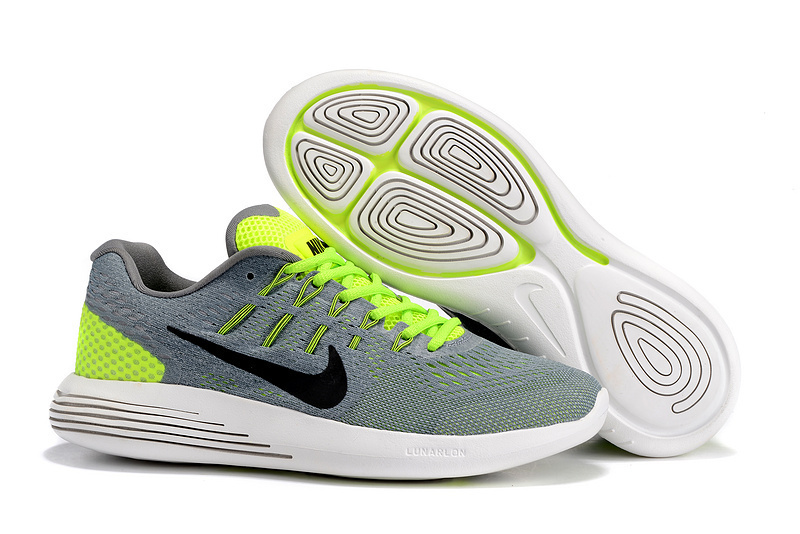 Nike LunarGlide 8 Lawngreen/Cool Grey/White