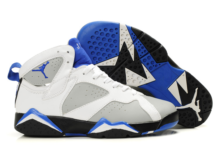 Jordan 7 Retro Blue/White/Black
