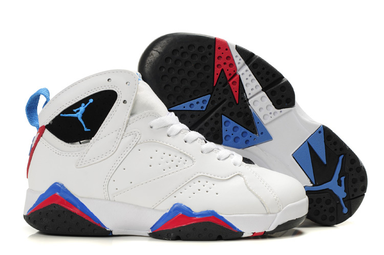 Jordan 7 Retro White/red/blue