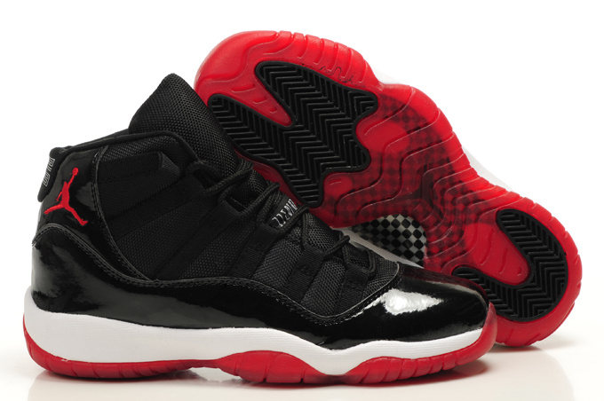Air Jordan 11 Women's Shoes white/black/red