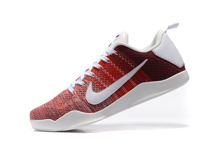 Kobe XI Elite white/red/crimson