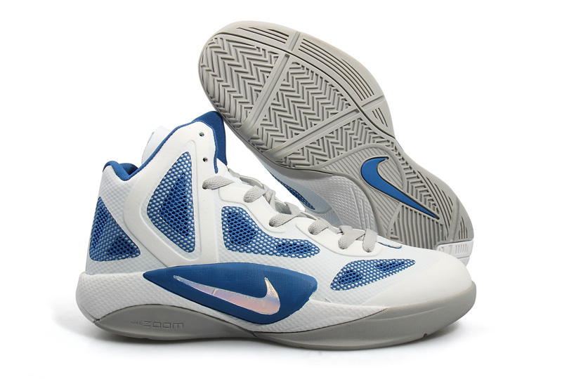 Nike Zoom Hyperfuse 2012 white/gray/Navy
