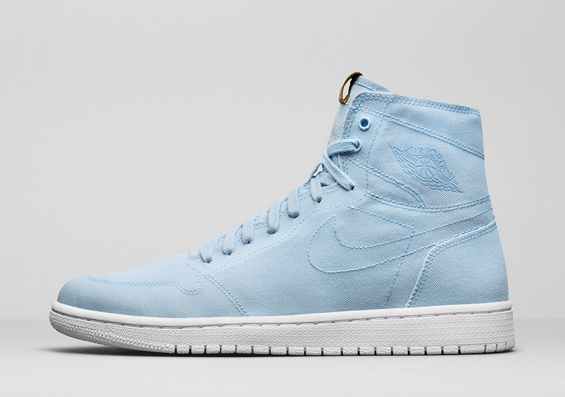 Air Jordan 1 Retro High Decon Ice Blue/Vachetta Tan/White
