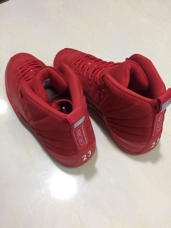 Air Jordan 12 Retro Red/Red