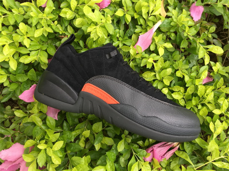 Air Jordan XII (12) Retro Low Black/Black