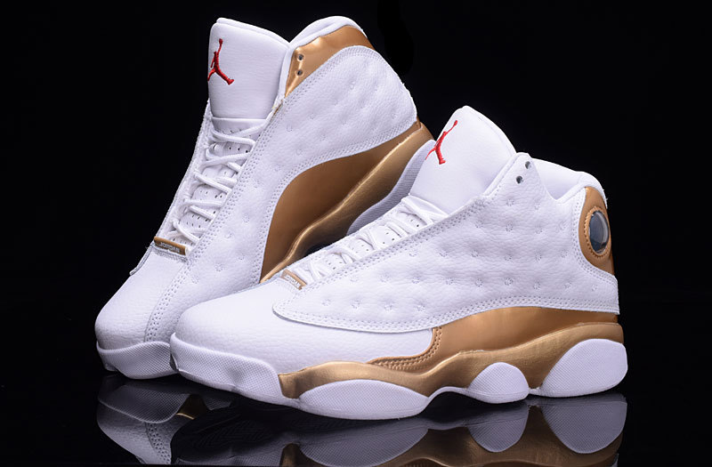 Air Jordan 13 Retro White/Golden/Red