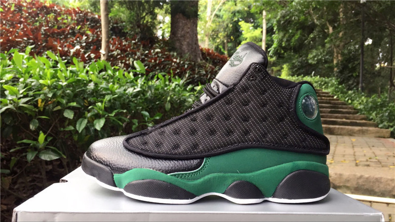 Air Jordan 13 Retro Black/White/Green