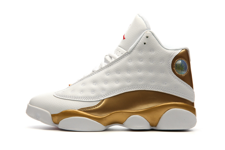 Air Jordan 13 Retro White/Golden
