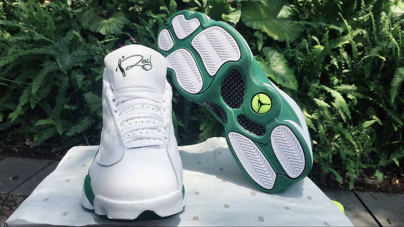Air Jordan 13 Retro White/DarkGreen
