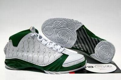 Jordan 23 Shoes white/black/green