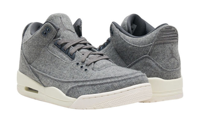 Air Jordan 3 Wool Gray/Gray