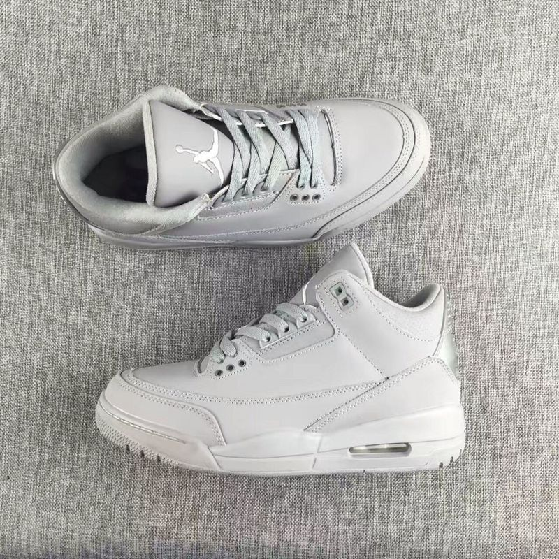 Air Jordan 3 Retro gray/gray