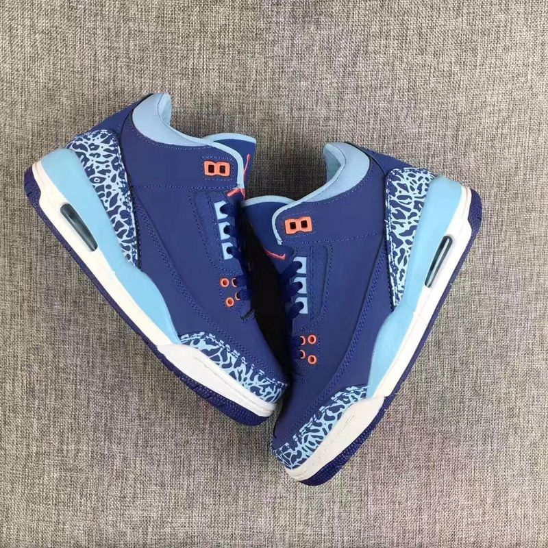 Air Jordan 3 GS Navy/Deepskyblue