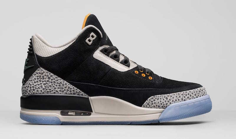 Air Jordan 3 Retro Black/White