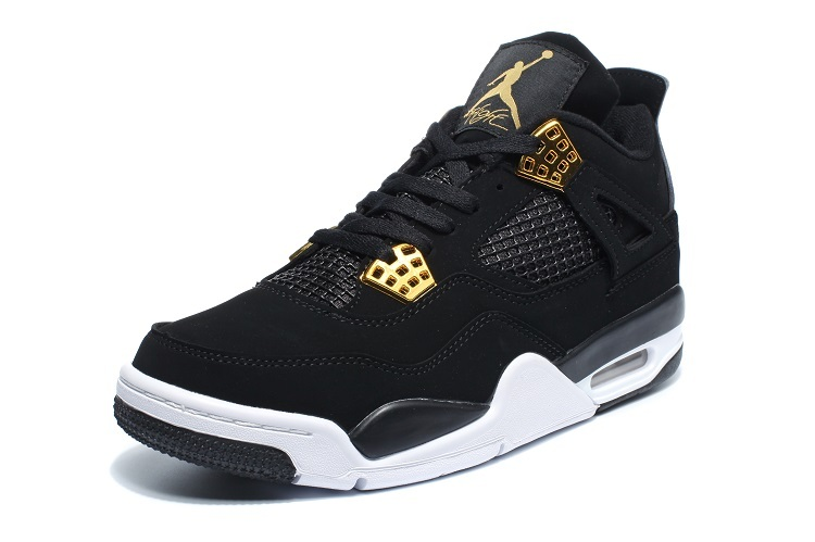 Air Jordan 4 Retro LS Black/Golden