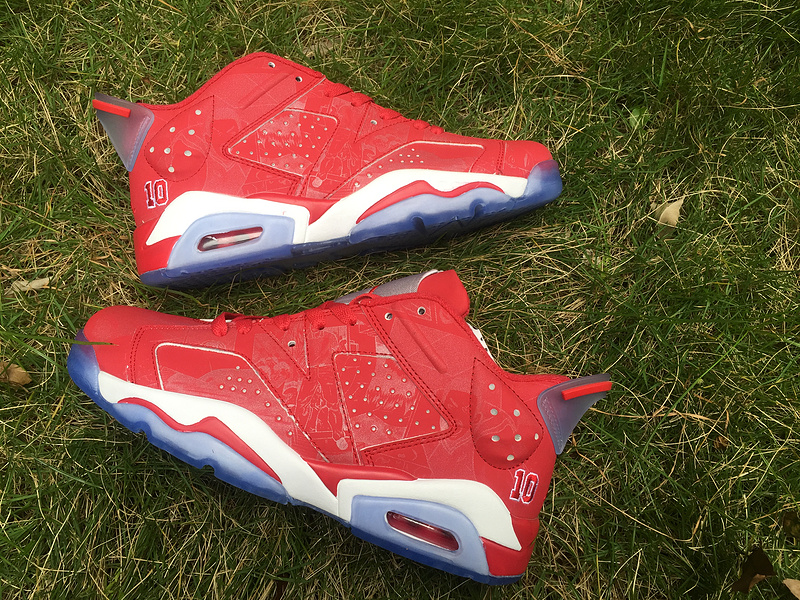 Air Jordan 6 Retro Red/White