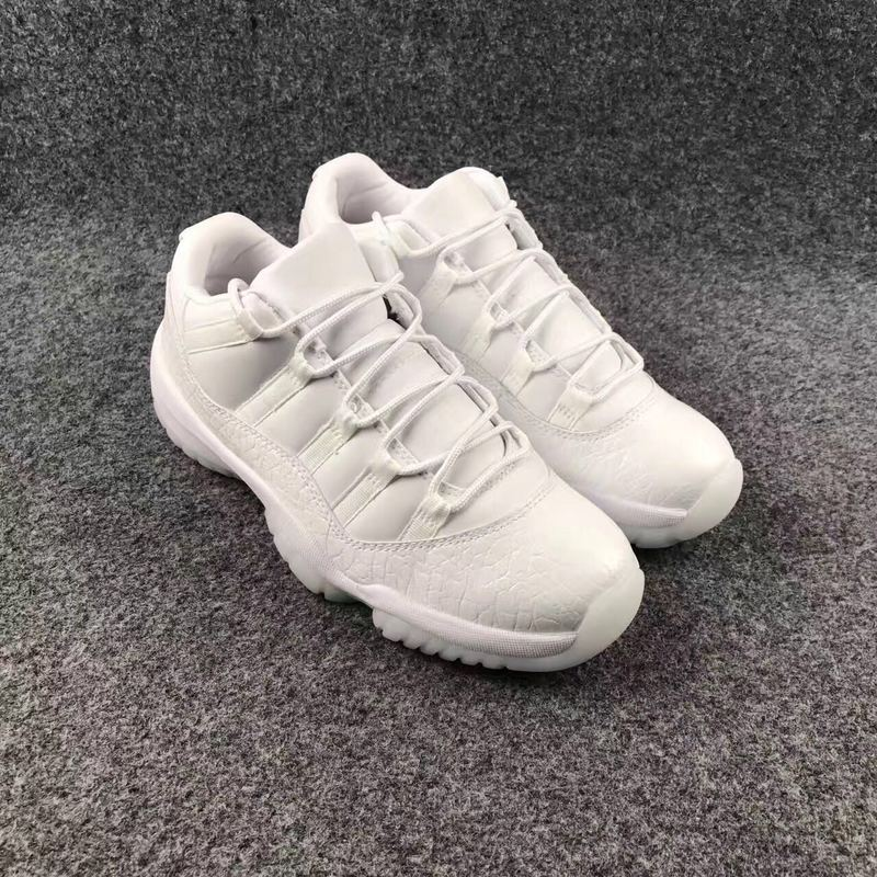 Air Jordan Retro 11 Low White/White