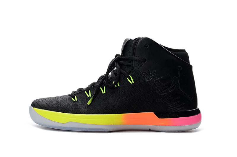 Air Jordan XXXI Black/Rainbow