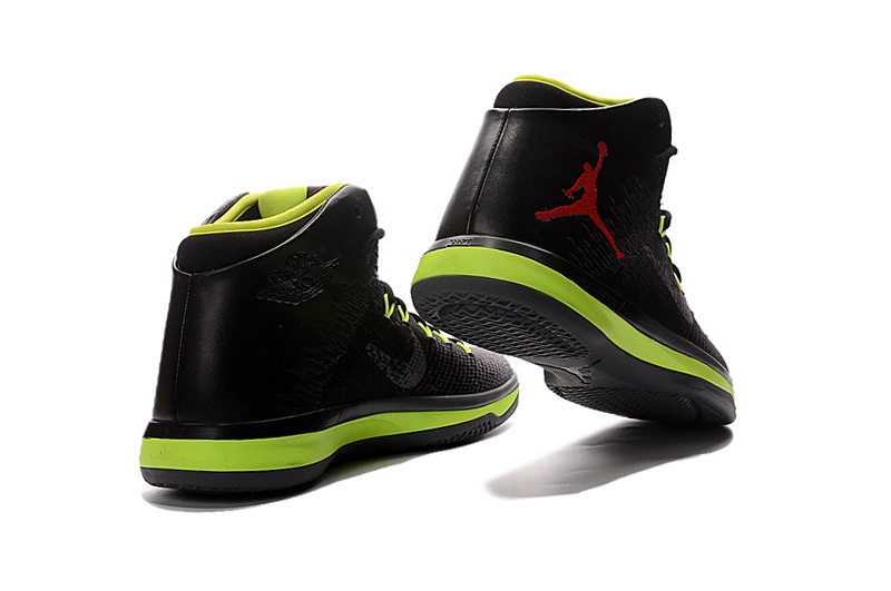 Air Jordan XXXI Black/Red/GreenYellow