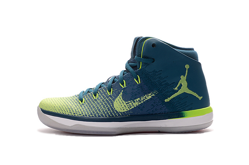 Air Jordan XXXI DarkCyan/GreenYellow