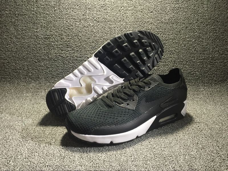 Nike Air Max 90 Ultra 2.0 Flyknit Black/White