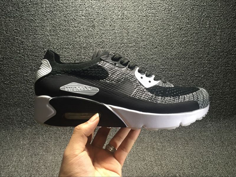 Nike Air Max 90 Ultra 2.0 Flyknit Black/White II