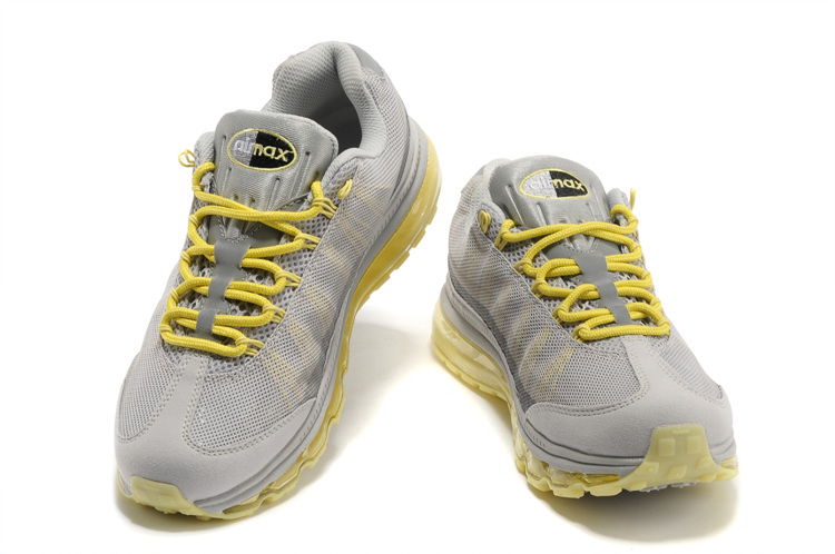 Nike Air Max 95 Dynamic Flywire gray/yellow