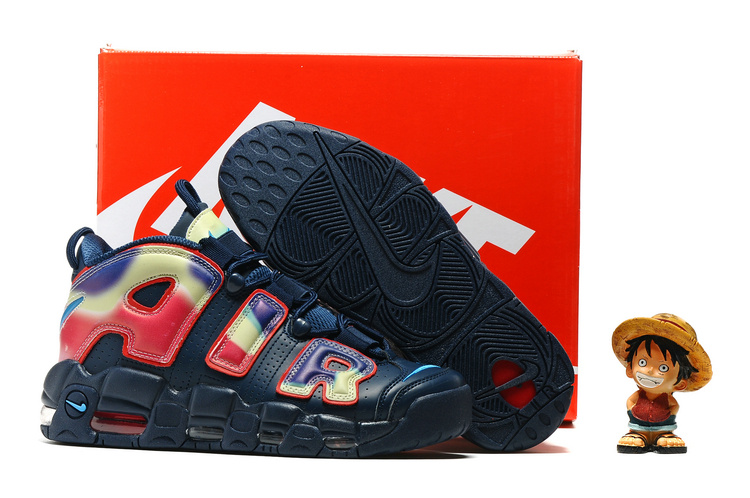 Nike Air More Uptempo OG MidnightBlue/Multi-Color