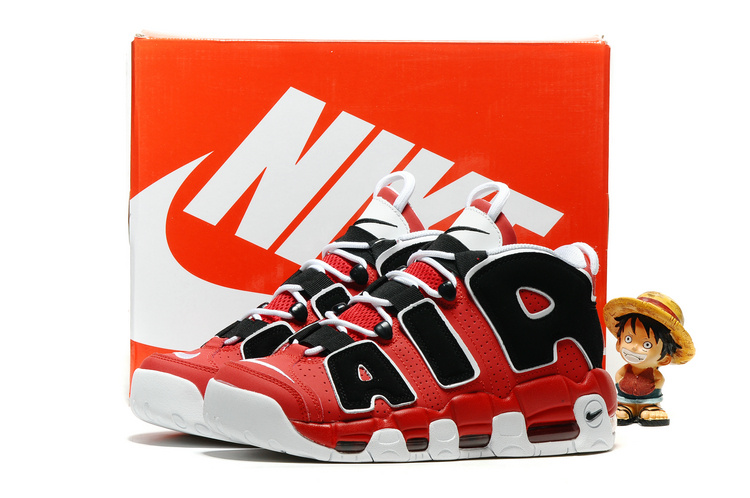 Nike Air More Uptempo OG White/Black/Red