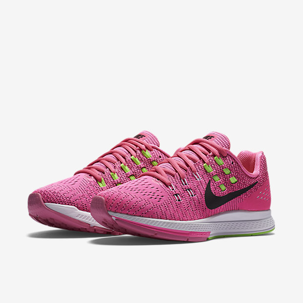 Nike Air Zoom Structure 19 Pink Blast/Electric Green/White/Black