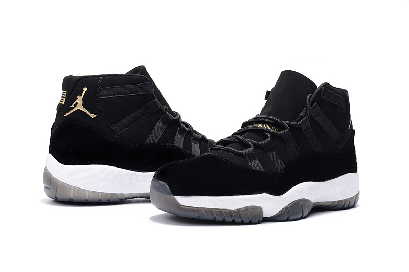 Air Jordan XI Black Velvet/Black/White