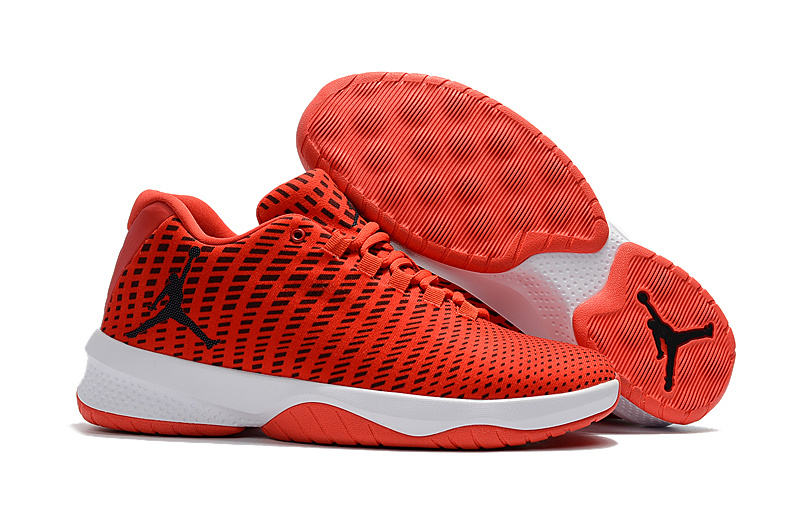 Jordan B. Fly Max Orange/Gym Red/White/Black