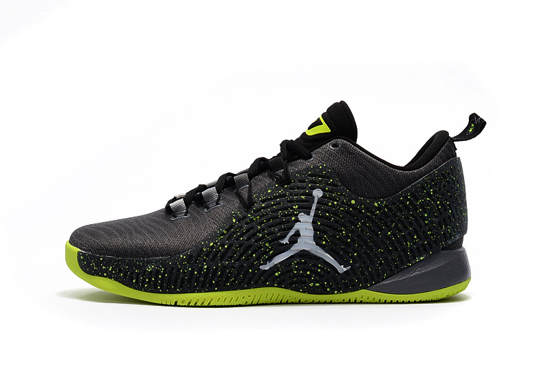 Jordan CP3.X Black/GreenYellow