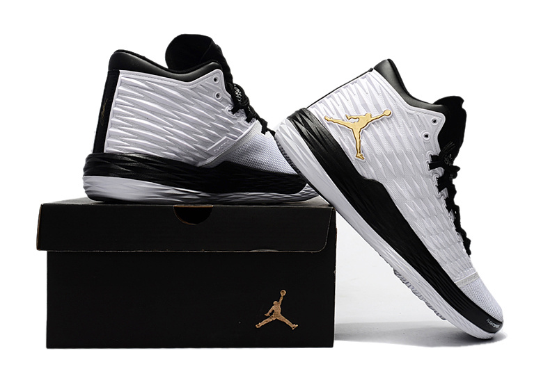 Jordan Melo M13 Black/White/Golden